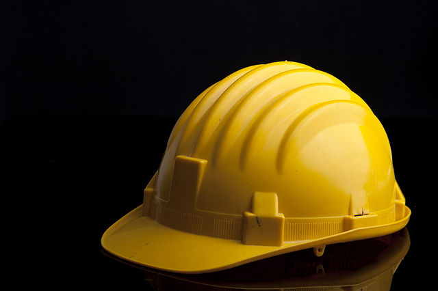 Hard hat - under construction