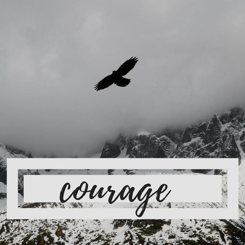 How Courage Takes Us Past Ourselves