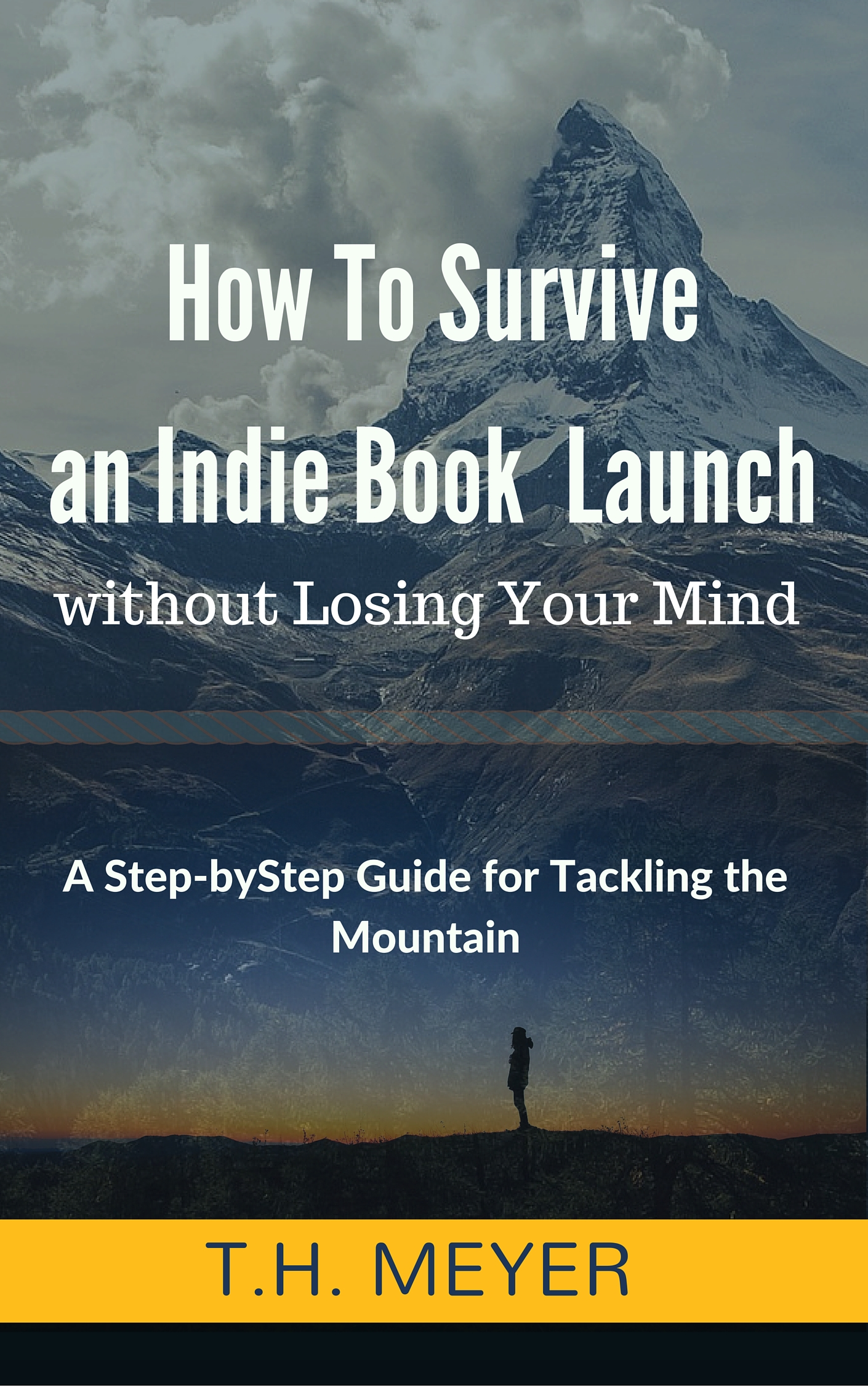 How to Survive an Indie Book Launch, by T.H. Meyer