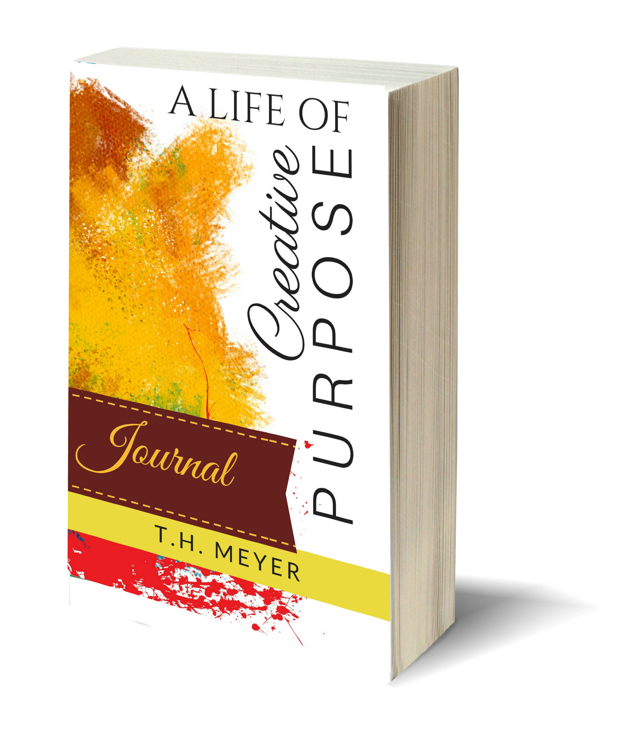 #FREE printable 81-page full length PDF Journal that can be added inside a binder with inspiring or thoughtful quotes from the book A Life of Creative Purpose by TH Meyer