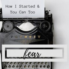 How I Started (to live one of my purposes) & You Can Too