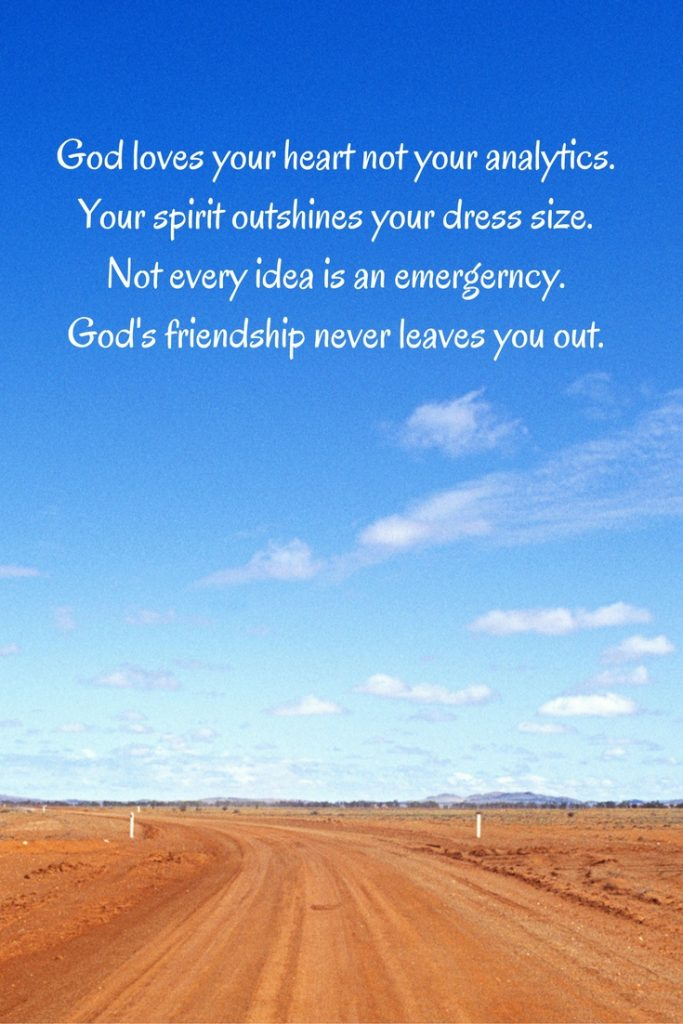 Your spirit outshines your dress size. At the Art of Fear Not   TH Meyer