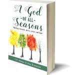 One view of a dazzling sunset or bare tree stripped of its foliage can reflect what is happening in our souls. #quote from A God of All Seasons book - by T.H. Meyer & Amy Breitmann on Amazon